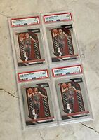 (4) 2018-19 Panini Prizm Trae Young Rookie RC #78 PSA 9 MINT Investor [Lot of 4]