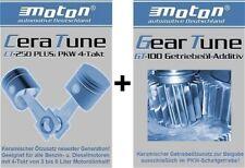 Additiv moton 4xCeraTune CT-250 für Motoröl + 1xGT-100 Geartune für Getriebeöl