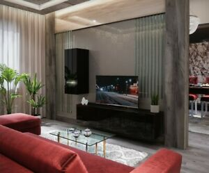 Modern Living Entertainment Wall Unit TV Stand BOXING 15 Gloss - 2 Colours
