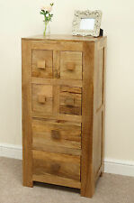 Mantis Light Natural Solid Mango 4' Tall CD Storage Chest by Mercers Furniture