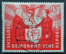 ALLEMAGNE RDA - timbre Yvert et Teliier n°36 obl - stamp Germany (cyn4) (B)