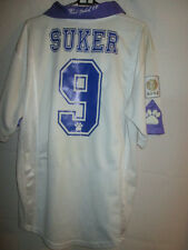 Real Madrid Suker 9 1997-1998 Home Football Shirt Grande / 34066