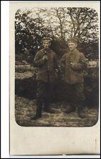 Militaria Echtfoto-AK Soldat Soldaten Militär Real Photo 1. Weltkrieg World War