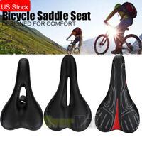 Bike Bicycle Pro Road Saddle MTB Sport Hollow Saddle Seat Black Soft Comfort New