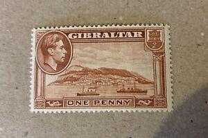 Gibraltar Sg 122 Perf 14 Lmm Cat £30