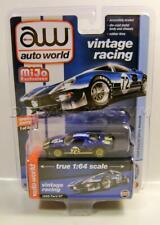 1965 '65 Ford Gt Dark Blue Dirty Mijo Vintage Racing Auto World Diecast 2020