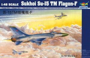 Trumpeter 9362811 Suchoi Su-15 TM Flagon-F 1:48 Kampfflugzeug Modellbausatz