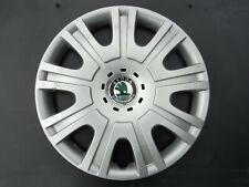 """Skoda OCTAVIA 15"""" Wheel Trim HUB CAP Centre Cover 1Z0601147E JM22"""