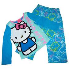 db7cc589c Sanrio Hello Kitty Pajama 2 Piece Pajama Sleepwear Set Girl Size 4 Blue