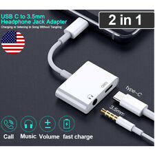 Type C Cable Adapter Charger Headphone 3.5mm USB C Jack For Samsung Note 10 Plus