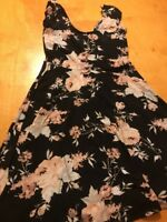 Urban Outfitters Kimchi  Dress with Flowers size small bx 45