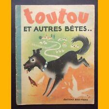 TOUTOU ET AUTRES BÊTES Images d'animaux André Jourcin 1947