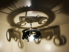 Farm TRACTOR light, gift, Chandelier,lighting, john deere,farm decor, home decor