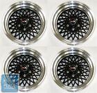 1982-87 Buick Grand National / GNX Factory Style Black Wheel Set - Zero Offset