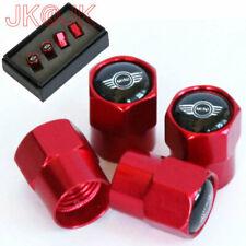 4 Stück Rot Sport Reifen Ventilkappen Ventile Cap Reifenventil Für