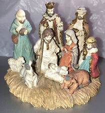 J. Z. Lefton 1992 Nativity Cwh00832 Resin Hand Painted Figurine by Lefton China