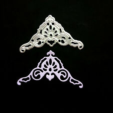 Lace corner Metal Cutting Dies Stencil For DIY Scrapbooking Album Cards Decor BD