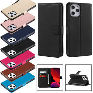 Leather Card Slot Wallet Flip Phone Case For iPhone 12 11 8 7 6 5 4 X Xs Pro Max