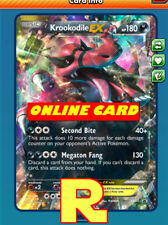 Krookodile EX - Promo XY25 for Pokemon TCG Online ( DIGITAL ptcgo in Game Card)