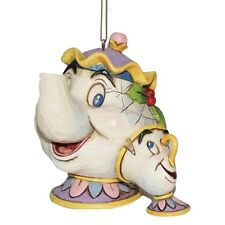 Disney Traditions - Mrs Potts & Chip Hanging Ornament - Beauty & the Beast