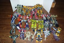 TRANSFORMERS MOVIE BIG LOT OF 24 LEADER CLASS BUMBLEBEE BRAWL FOR PARTS LOOSE