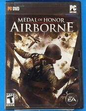 Medal of Honor: Airborne (PC, 2007) In Case manual & Key Shelf