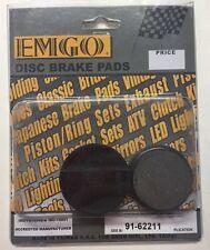 EMGO 91-62211 Disc Brake Pads 1982-95 Various Yamaha ATV