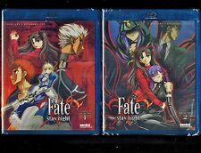 Fate/Stay Night - Complete Series - Collection 1 & 2 - Brand New Blu Ray