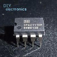 10PCS OPA2111KP OPA2111 Dual Low Noise Precision Difet DIP-8 US