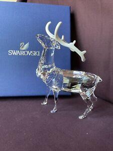 Swarovski Crystal 2012 Christmas Reindeer Stag - Retired