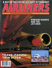 AIRLINERS, WORLD'S AIRLINE MAG.Vol 3 #3 Fall 90, Howard Hughes jetliner, Connie