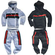 Trainingsanzug Sportanzug Kinder Junge Jogginganzug Hoodie Pullover Kapuzen