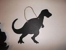 Forma Dinosauro Gesso Board Lavagna SHOP CAFE segno Compleanno Regalo Di Natale