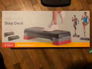 "PRO-FORM Adjustable Step Deck 4"" and 6"" 🔥 New"
