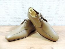 PAUL SMITH HOMME BEIGE chaussures en cuir à lacets - UK 7.5 US 8,5 UE 41.5