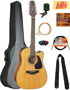 Takamine GD30CE12 12-String Dreadnought Acoustic-Electric Guitar w/ Gig Bag