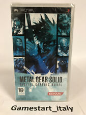 METAL GEAR SOLID A DIGITAL GRAPHIC NOVEL - FUMETTO (SONY PSP) NUOVO VERSIONE ITA