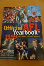 RARE AFL THE OFFICIAL YEARBOOK 1999 HARDCOVER 220pp