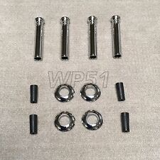 4 X Alloy Chrome Door Lock Pin Pins FOR E39 E46 E38 E90 M3 E92 E60 M5 X5 E70