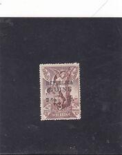 PORTUGUESE GUINEA VASCO DA GAMA 7 1/2 c. s/ 75 Reis IN AFRICA STAMP (1913)