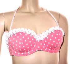 34A Victoria's Secret Bandeau Swim suit Top Swimwear Push up, Strapless + STRAPS