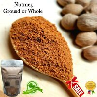 Nutmeg Powder 100% Pure Natural Ground & Whole Spice Myristicaceae Nuez Moscada