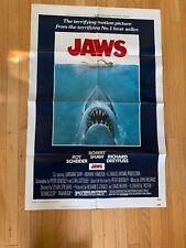 jaws original movie poster 1975