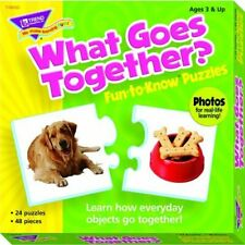 Trend Enterprises Inc What Goes Together Puzzle, 24 2-Piece Puzzles