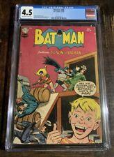 Batman Comics #88 CGC 4.5! The Son Of Batman Cover!⭐️⭐️⭐️