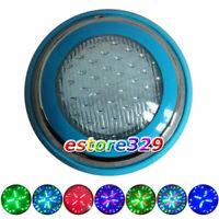 10W/12V Multicolor RGB LED STAINLESS STEEL UNDERWATER SWIMMING POOL LIGHT LAMP