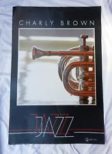 Wolfgang WInter / Verkerke Gallery Edition - Charly Brown Jazz Poster 1983