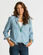NWT Fresh Produce Somerset Denim Shirt size S $69