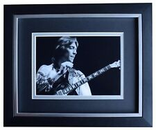 Steve Hackett SIGNED 10x8 FRAMED Photo Autograph Display Genesis Music COA
