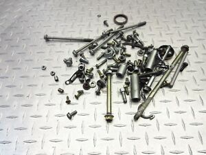 2009 06-09 HYOSUNG GT 250 GT250R MISC HARDWARE BOLTS WASHERS SCREWS OEM